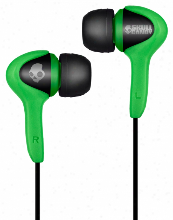 Skullcandy Smokin Buds Earbuds Sc Green