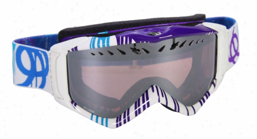 Smith Fuse Snowboard Goggles Krink/ignitor Lens