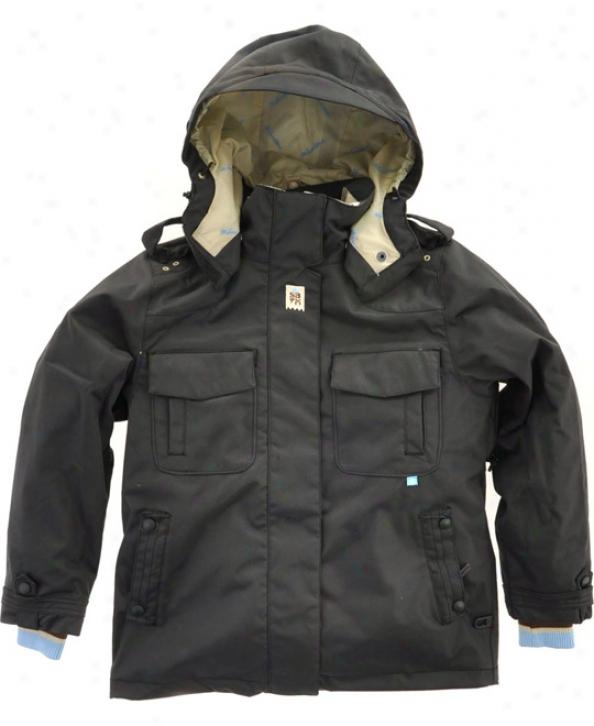 Special Blend Ariel Snowboard Jacket Black