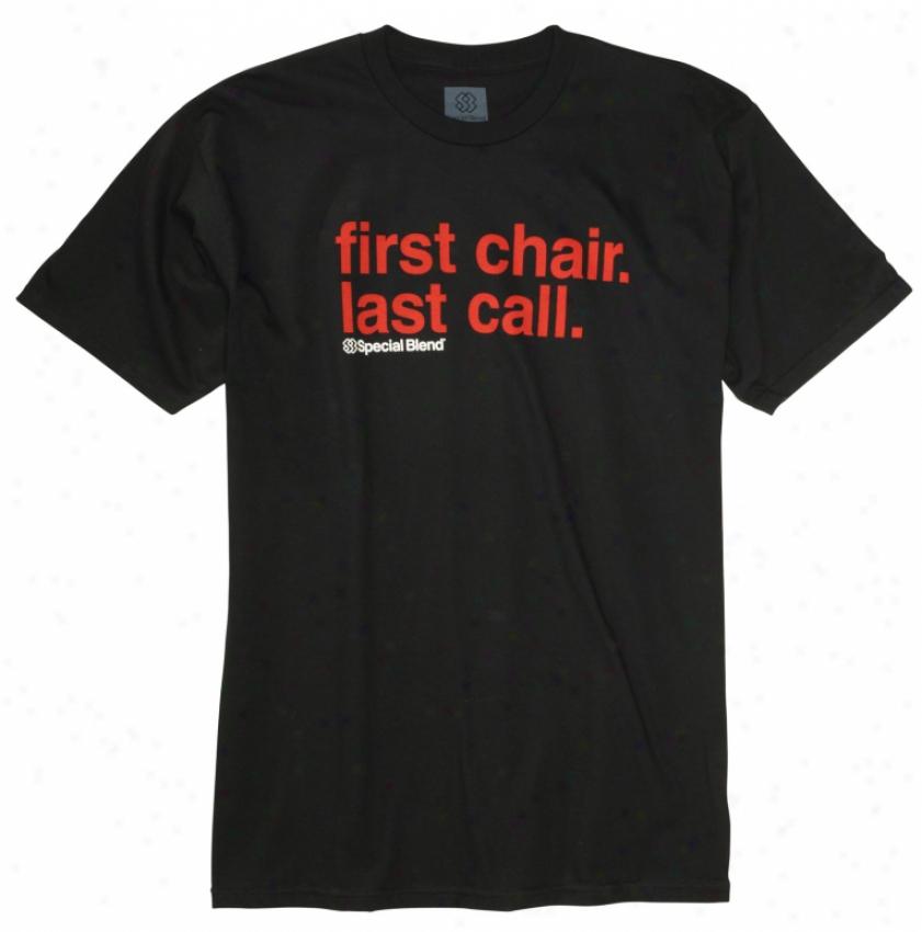 Special Blend Fcc T-shirt Blackout