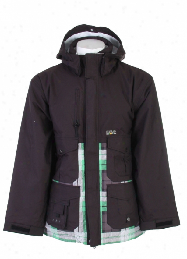 Special Blend Gunner Snowboard Jacket Blackout