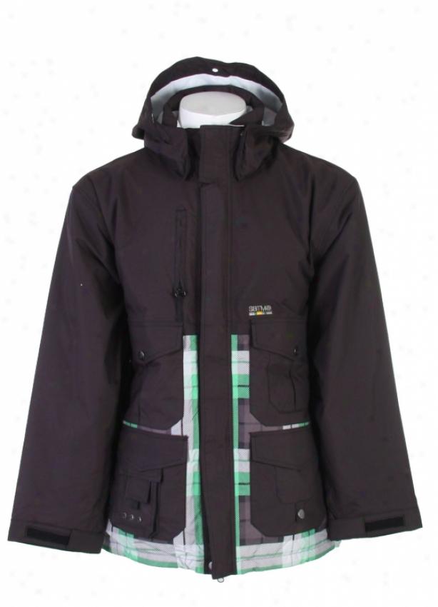 Special Blend Gunner Snowboard Jacket Blackout
