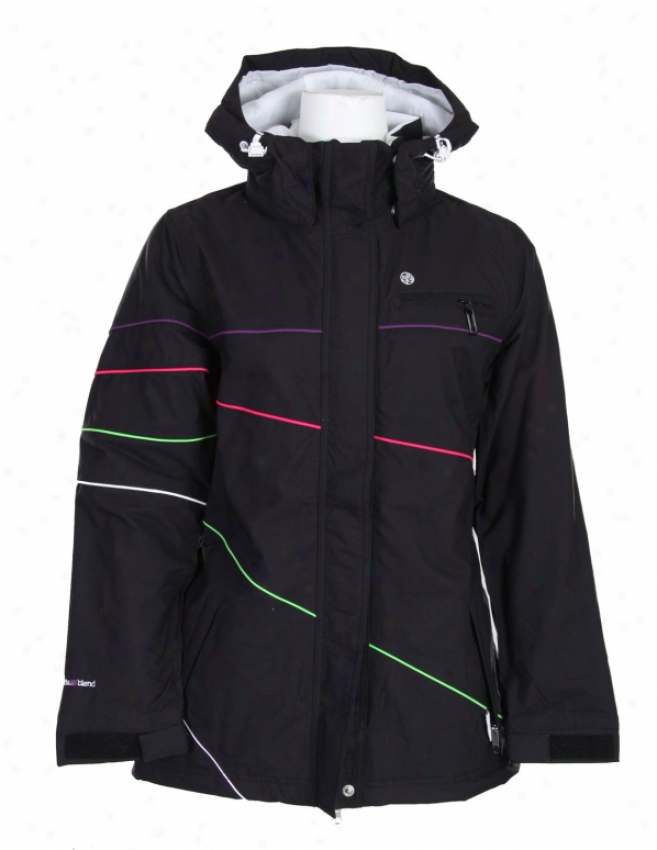 Specific Blend March Snowboard Jacket Blackout