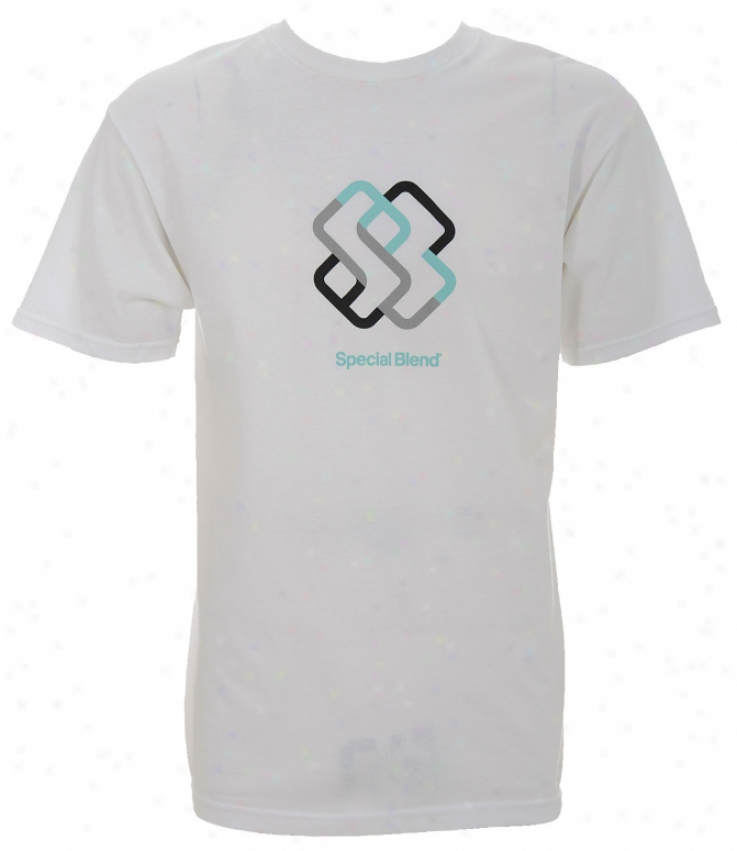 Special Blend Striped Icon T-shirt White