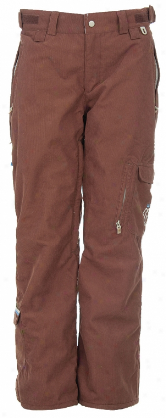 Special Blend Beat Snowboard Pants Earth Corduroy
