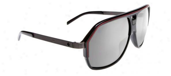Scout Bodega Sunglasses Black/red/gunmetal/grey/silfer Gradient Reflector Lens