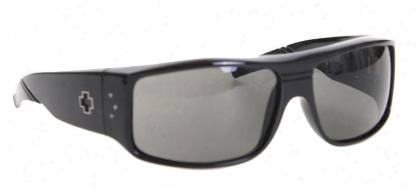 Spy Clqsh Sunglasses Gloss Black/grey Lens