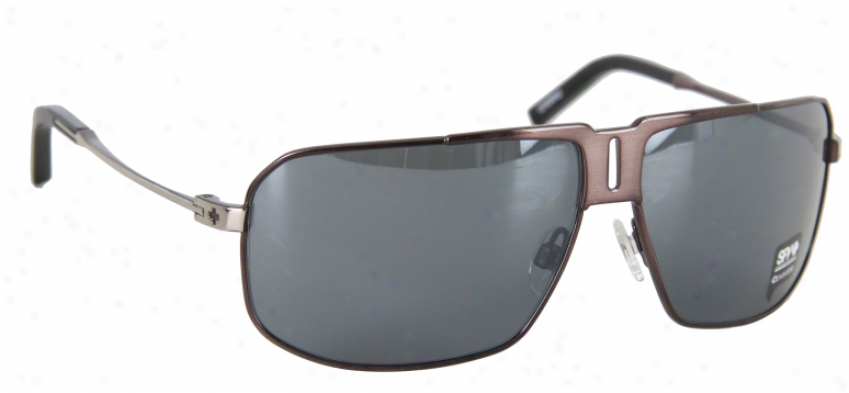 Spy Cloverdale Sungllasses Brushed Gunmetal/black Mirror Lens