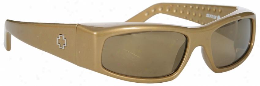 Spy Mc Sunglasses Gold/bronze Gold Mirror Lens