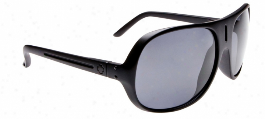 Spy Stratos Ii Sunglasses Matte Bladk/grey Lens