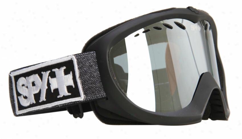 Scrutinize Targa Ii Snowboard Gogges Occult/blue Silver Mirror Lens