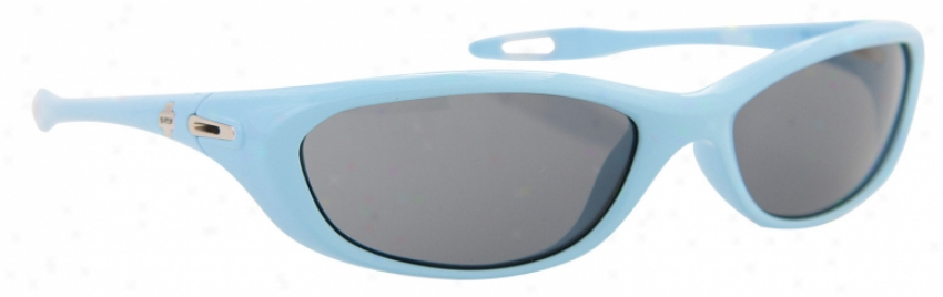 Spy Vega Sunglasses Powder Blue/grey Arc Lens