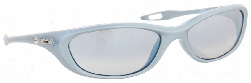 Spy Vega Sunglasses Powder Pearl/grey Lens