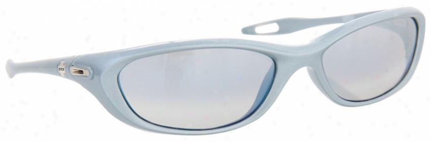 Spy Vega Sunglasses Powder Pearl/grey Lens