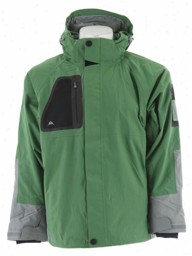 Stormtech Triton H2xtreme Shell Jacket Kiwi/greystone