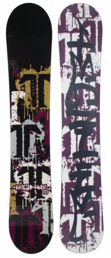 Technine Split T Splatter Snowboard Black 157