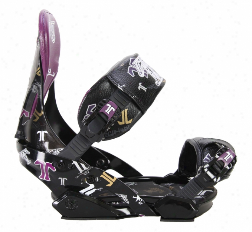 Technine T-money Pro Series Snowboard Bindings Black
