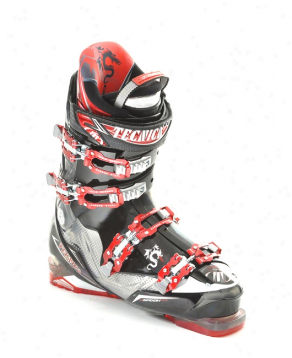 Tecnica Dragon 100 Ski Boots Black/smoke