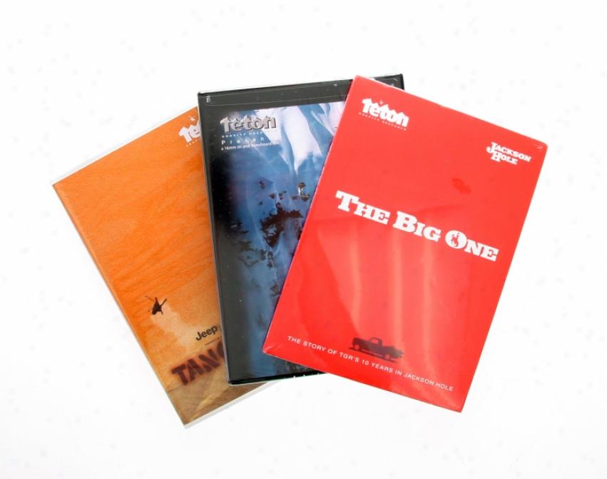 Teton Gravity Research Bonus Set 3 Bundle Ski Dvd