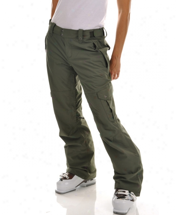 The orNth Face Go-go Lading Ski Pants Anchorage Green