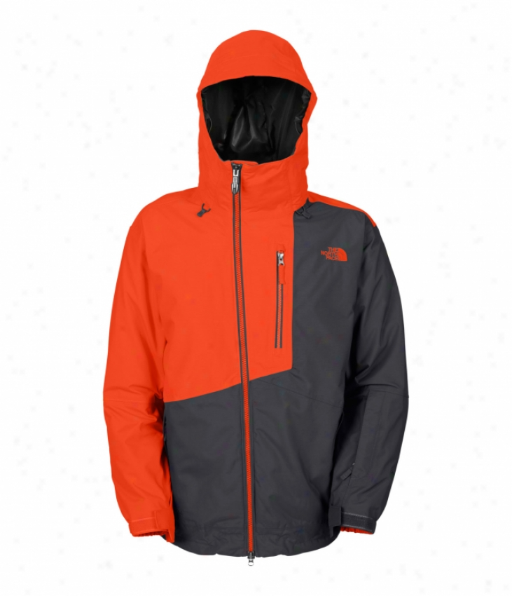 The North Face Gonzo Ski Jacket Flare Orange