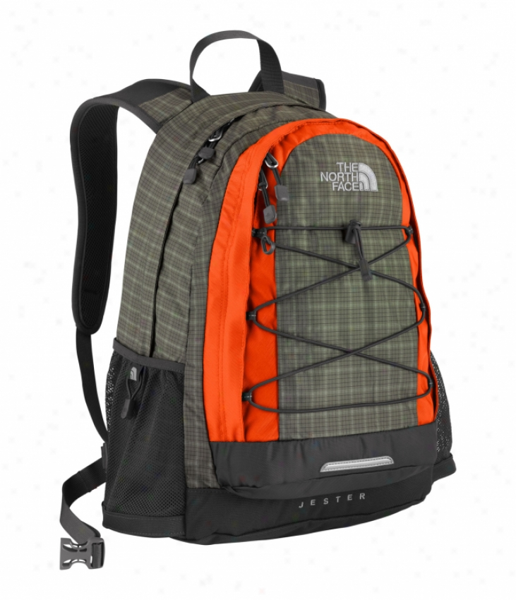 The Northerly Face Jester Backpack Dhsty Oliver Green