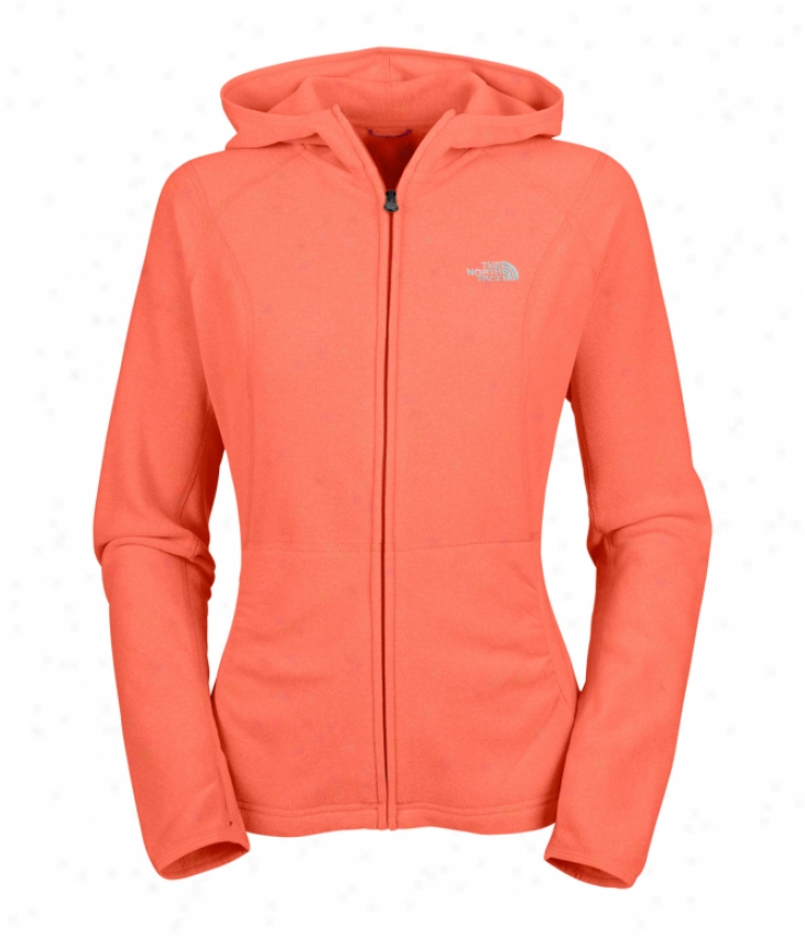 The North Face Ta 100 Texture Masonic Fleece Phoenix Pink