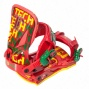 Technine T-money Snowboard Bindings Rasta