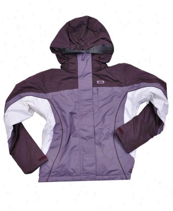 Trespass Emile Snowboard Jacket Dewberry