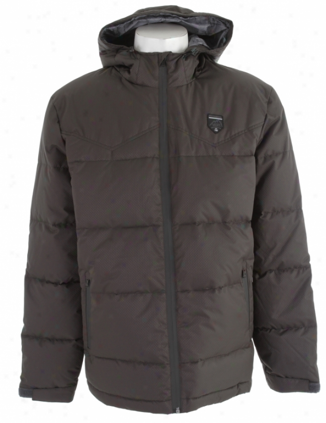 Vans Bridger Jacket New Charcoal/new Charcoal