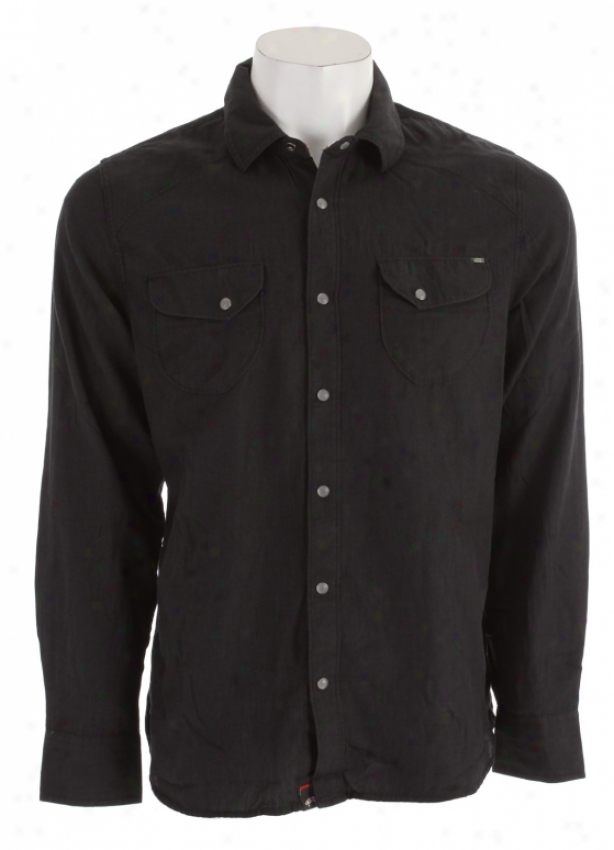 Vans Dimmick Shirt Black