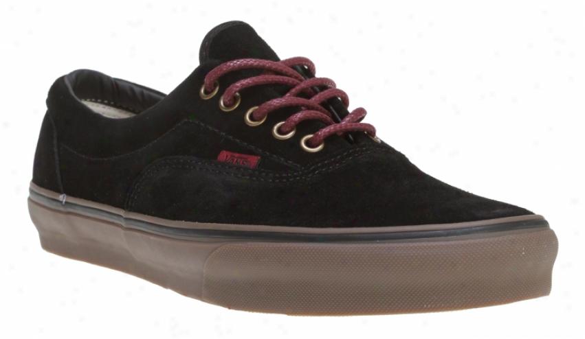 Vans Era Shoex Black/port/gum