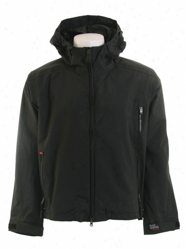 Vans Etienne Lydon Snowboard Jacket Black Maiden Trooper