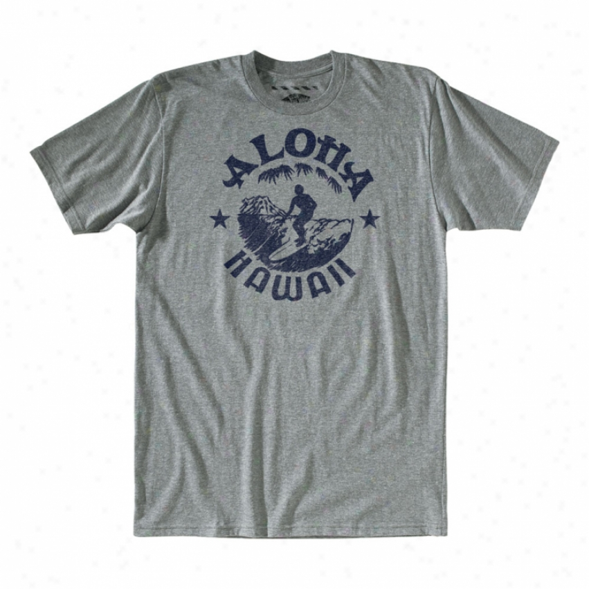 Vans Greetings From Hawaii T-shirt Rock Grey Heather