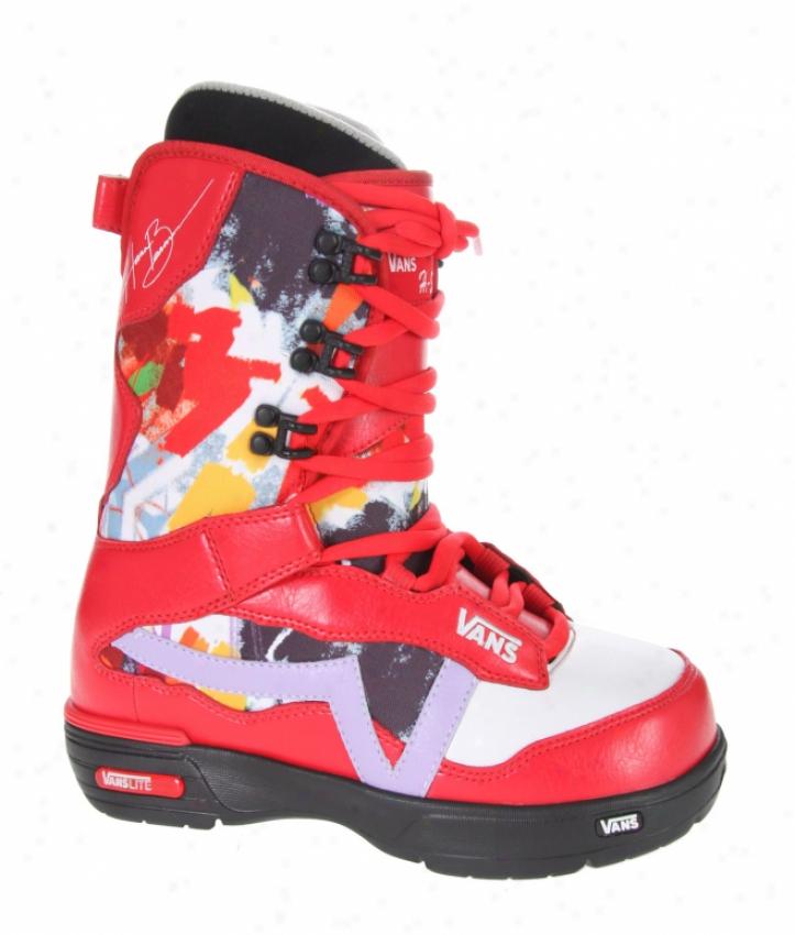 Vans Hi Standard Snowboard Boots Red/splash