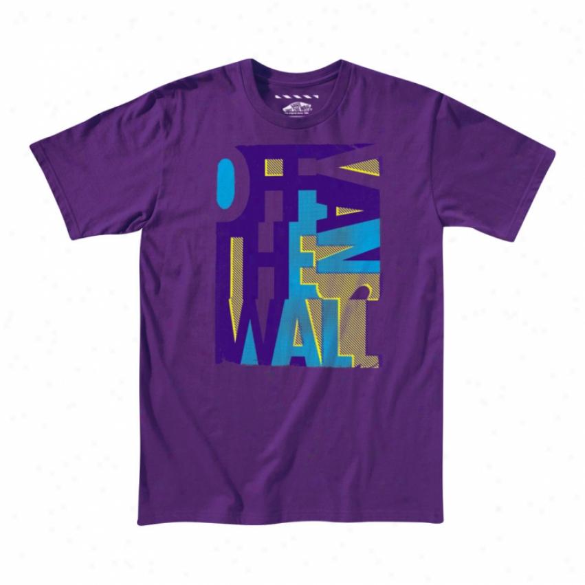 Vans Mixup T-shirt Purple