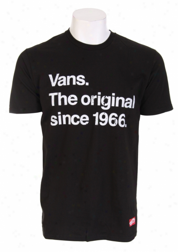 Vans Original Ever Since T-shirt Black
