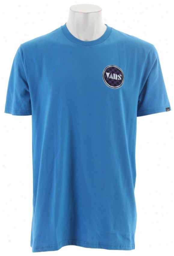 Vans Outer Reef T -shirt Brilliant Blue