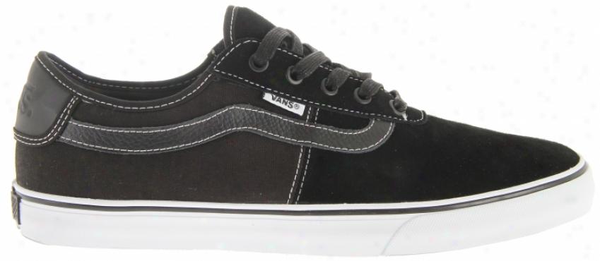 Vans Rowley Spv Skate Shoes Black/white