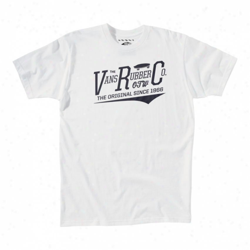 Vans Rubber Co T-shirt White