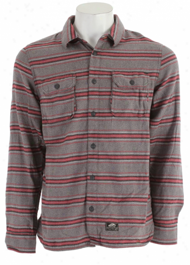 Vans Ruskin Flannel Shirt Gravel