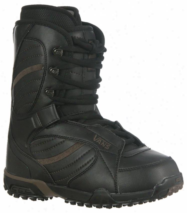 Vans Christ Snowboard Boots Black/black
