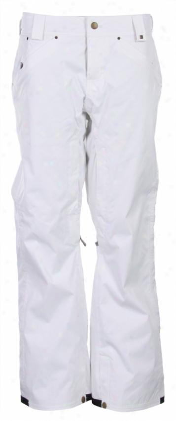 Vans Zissou Insulated Snowboard Pants Bright White