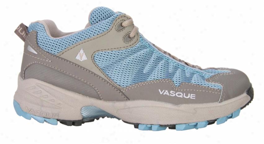Vasque Swiftness Hikjng Shoes Adriatic Bl/bungee Cord