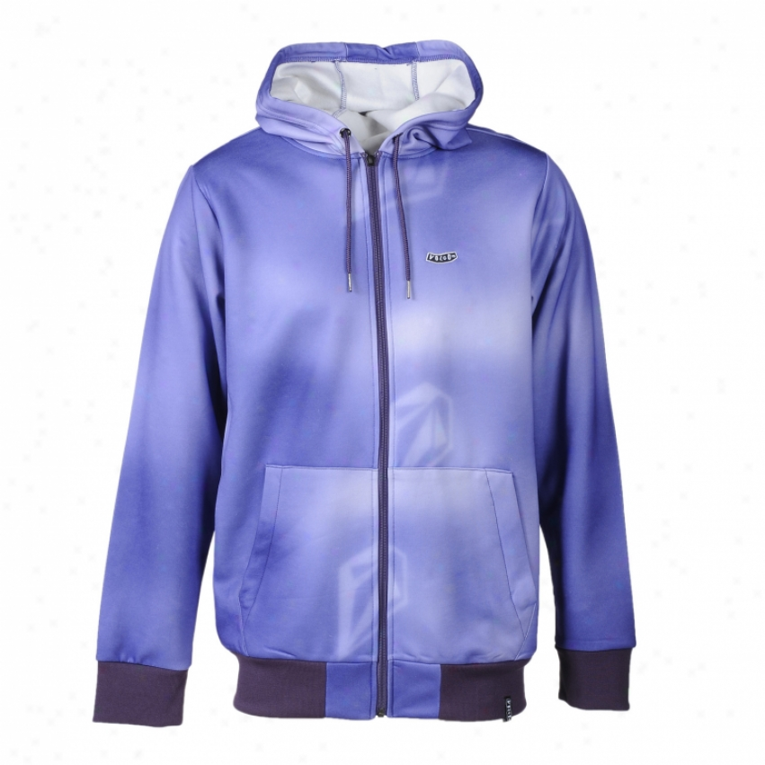 Volcom Chiller Hydro Fleece Hoodie Purple Paint