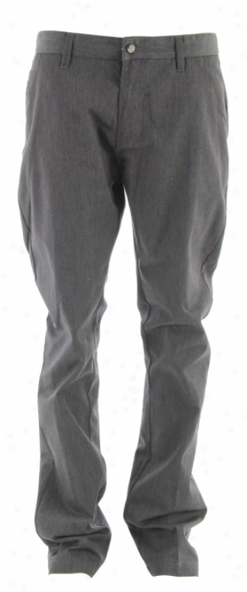 Volcom Frickin Modern Chino Pants Charcoal Heather