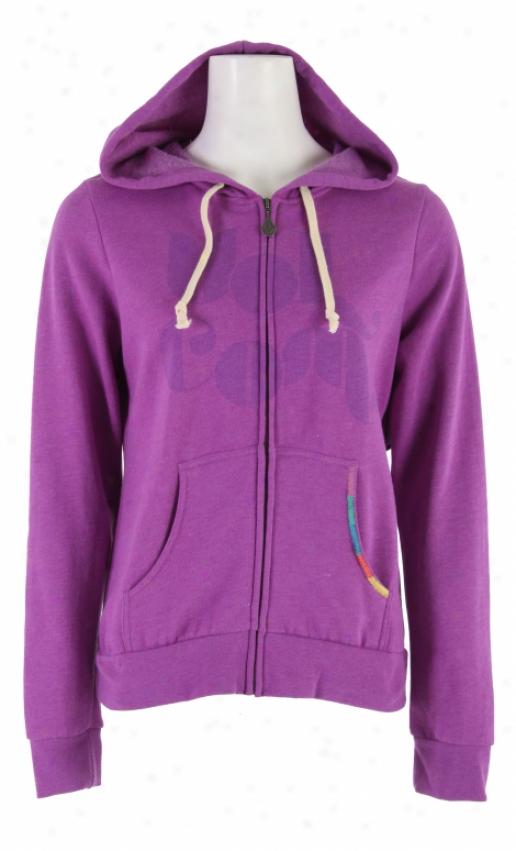 Volco mFriendship Zip Up Hoodie Purple Trip Heather