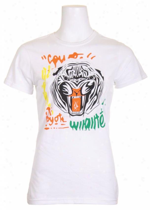 Volcom Mike Kefshnaaar Organic T-shirt White