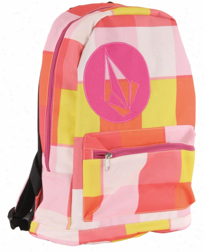 Volcom Well Armed Backpack Pink Freeze