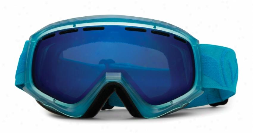 Vonzipper Missl3pop Snowboard Goggles Aqua/astro Chrome Lens